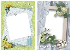Скачать свадебные рамки для фотошопа бесплатно красивые