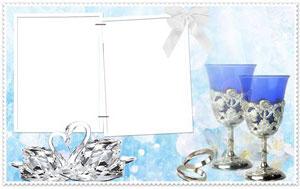 Скачать свадебные рамки фотошоп