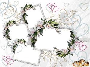 Свадебные рамки фотошоп