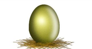 Рисуем Золотое яйцо