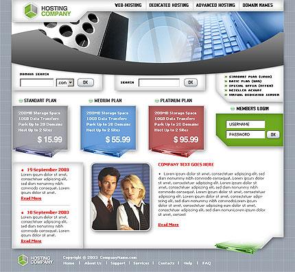 Бесплатно шаблон сайта хостинговой компании сделать редактируемую страницу на сайте