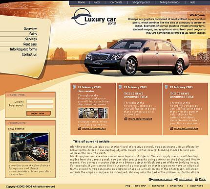 Шаблон сайта компании по продаже
